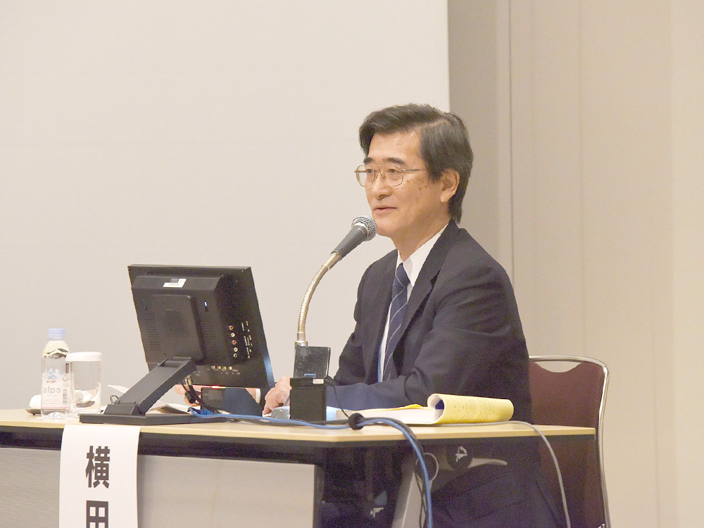横田 裕行先生